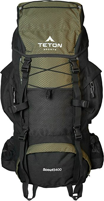 TETON-Sports-Scout 3400-Internal-Frame-Backpack