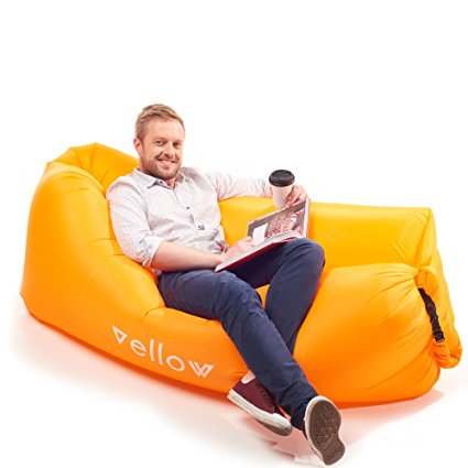 Vellow-Inflatable-Lounger